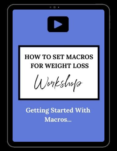 Ipad mockup macro setting workshop - Keto fantastic